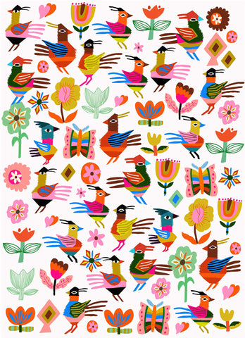 carolyn gavin blanket birds toi art gallery print