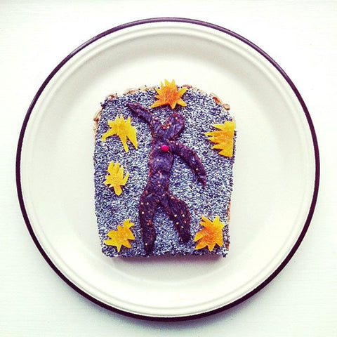 ida frosk food art toi art gallery