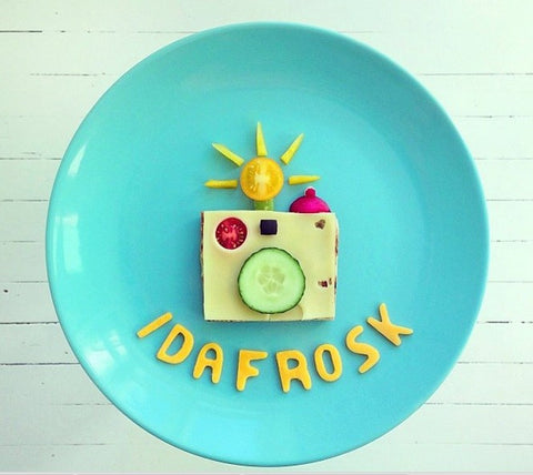 ida frosk food art toi