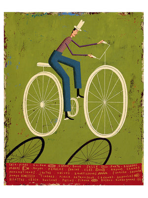 Bicycle by Martin Jarrie - Toi Gallery