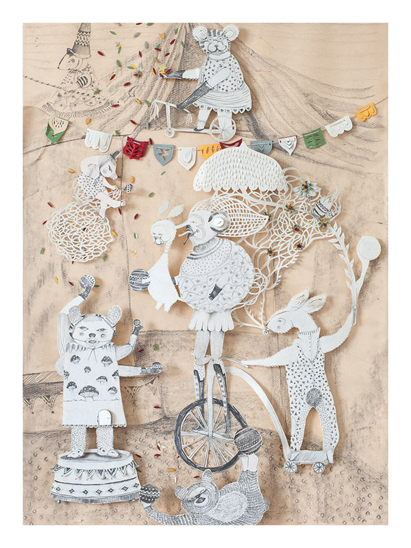 Circus by Lucila Biscione - Toi Gallery