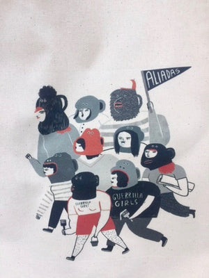 Guerrilla tote bag - Toi Gallery