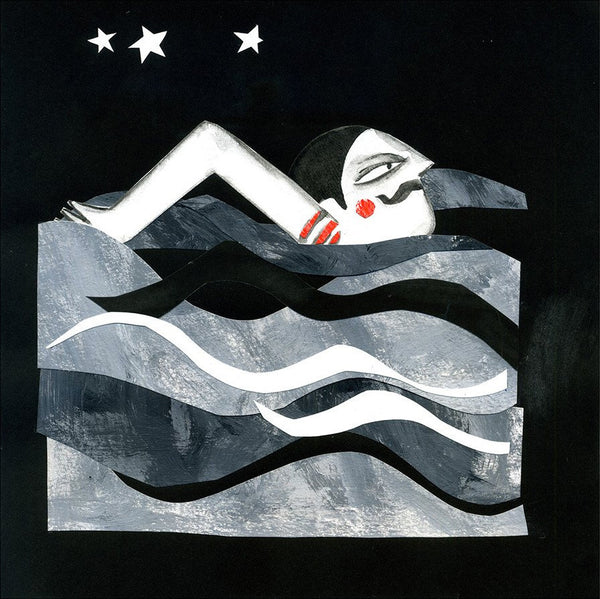 Nocturnal swimmer by Eleonora Arroyo - Toi Gallery