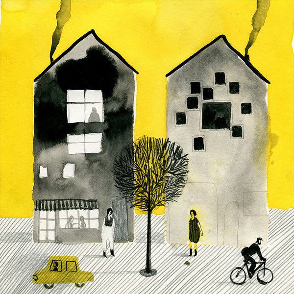 Yellow by Violeta Lopiz - Toi Gallery