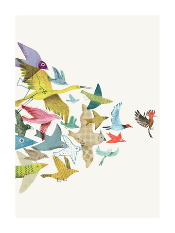 Bird Conference by Beatrice Cerocchi - Toi Gallery