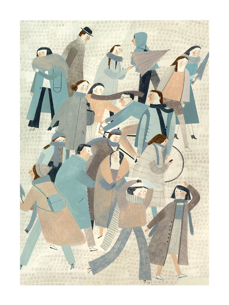Crowd by Beatrice Cerocchi - Toi Gallery
