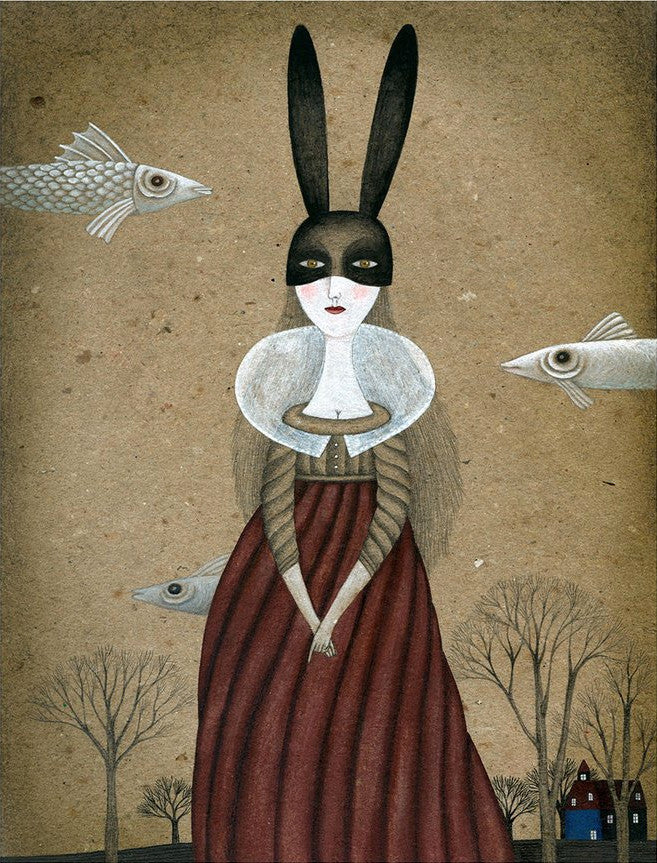 Black Ears by Claudia Legnazzi - Toi Gallery