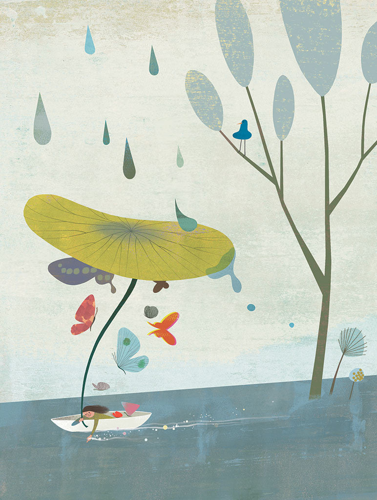 Spring Rain by Eunyoung Choi. - Toi Gallery