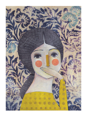 Talking Eyes by Evelyn Daviddi - Toi Gallery
