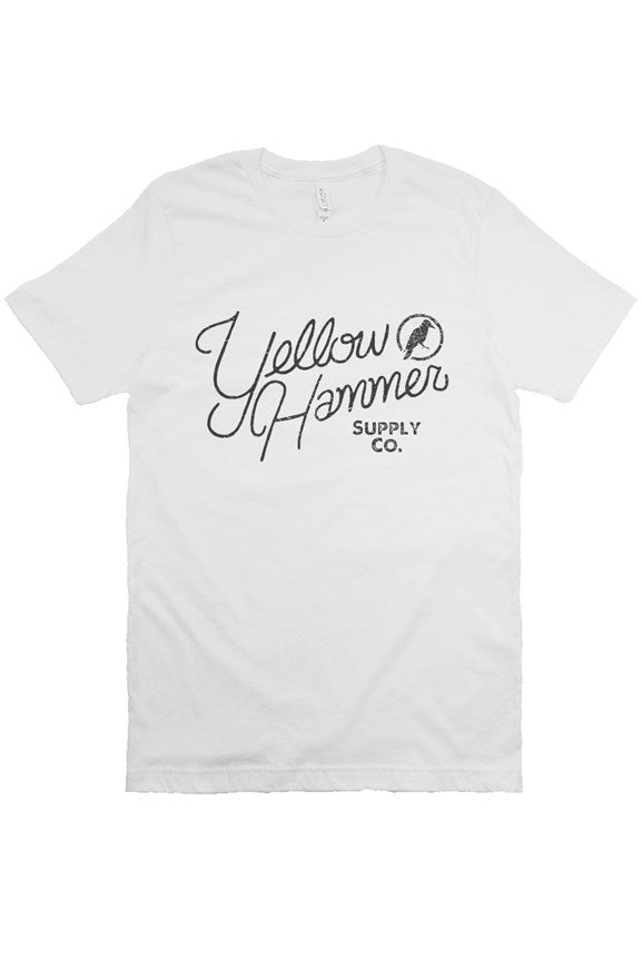 YHSCo Black Script T-shirt - Yellowhammer Supply Co.