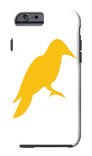 IPHONE CASE WITH YHSC BIRD LOGO (White and Gray)