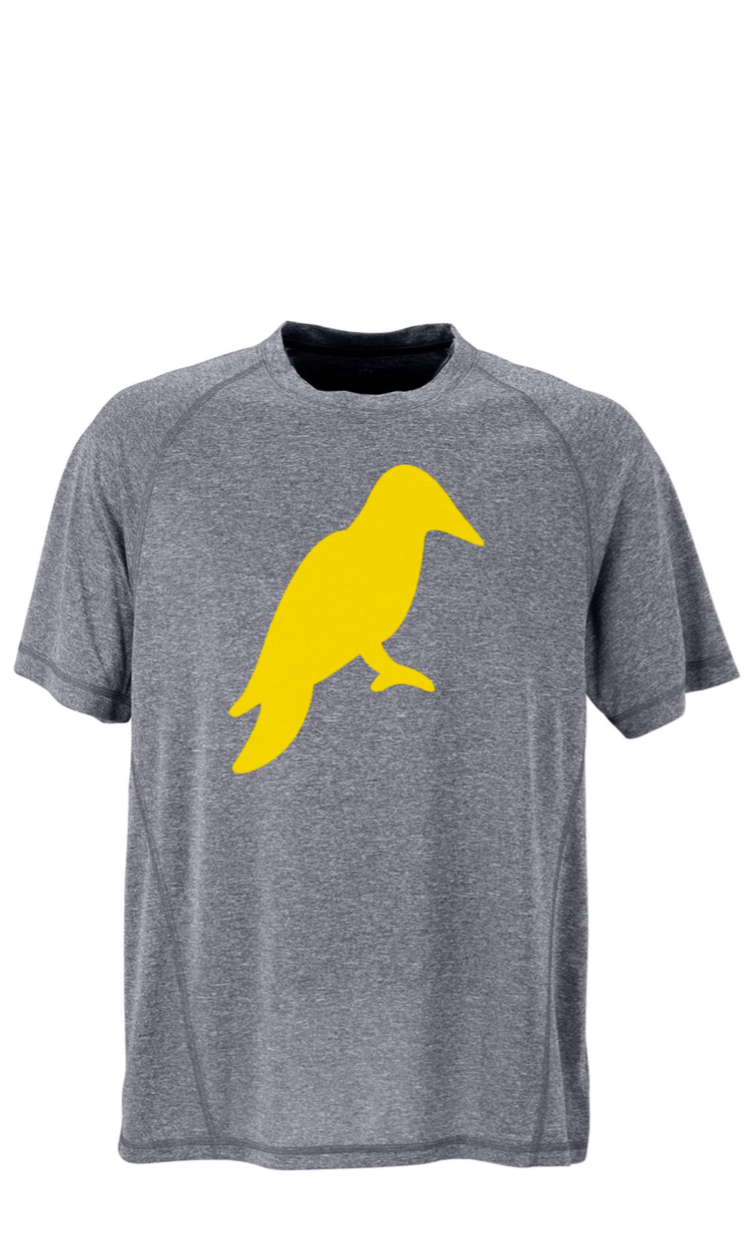 MENS HEATHER GREY MÉ LANGE TECH TEE - Yellowhammer Supply Co.