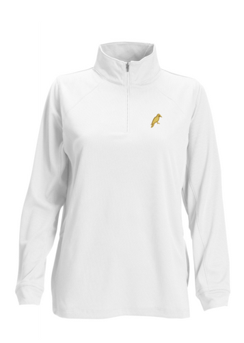 WOMEN'S 1/4 ZIP TECH PULLOVERS