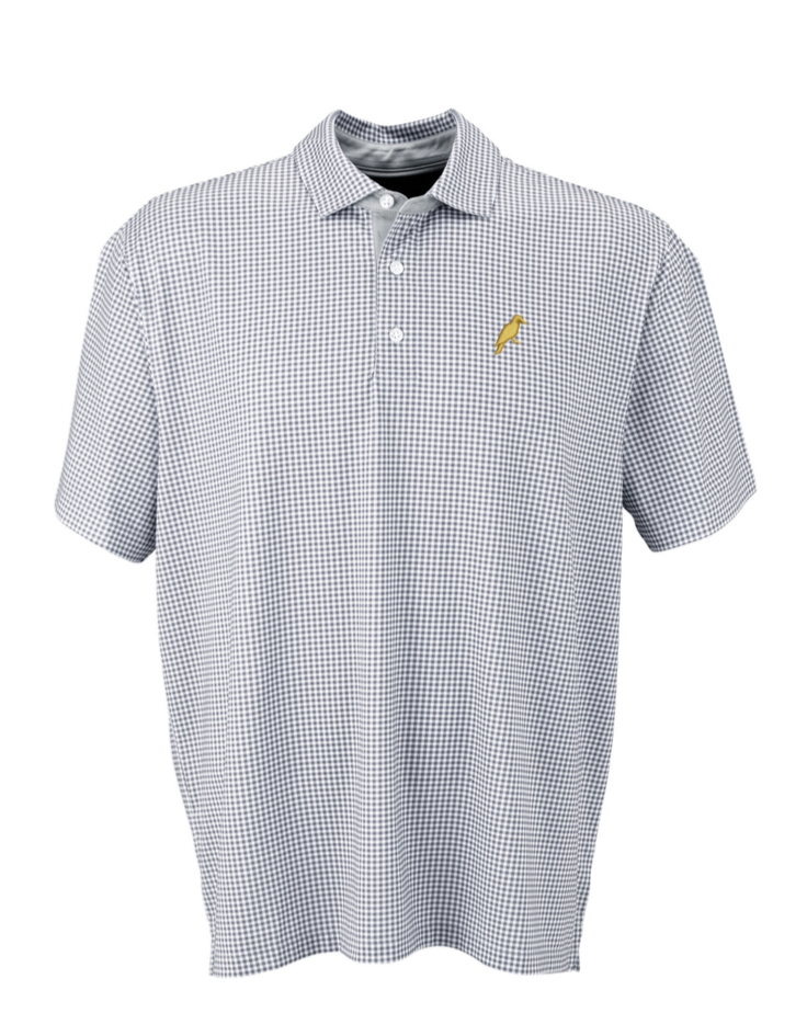PRO MINI-GINGHAM POLO - Yellowhammer Supply Co.