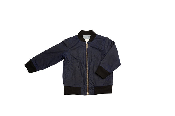 AVIATOR ZIP - WAX - NAVY