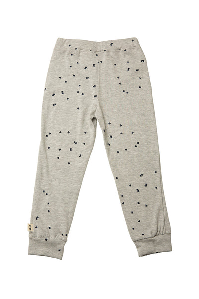 LEGGING - LOGO PRINT - GREY