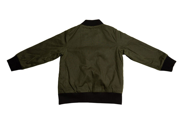 AVIATOR ZIP - WAX - GREEN
