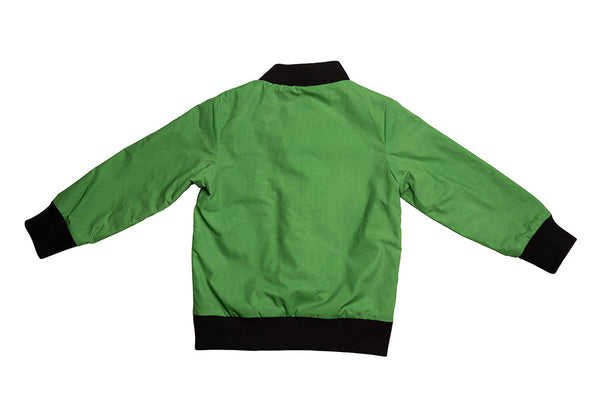 AVIATOR ZIP - WAX - BRIGHT GREEN