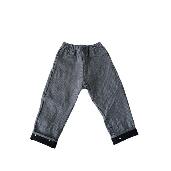 BUM PATCH PANT RAILROAD STRIPE