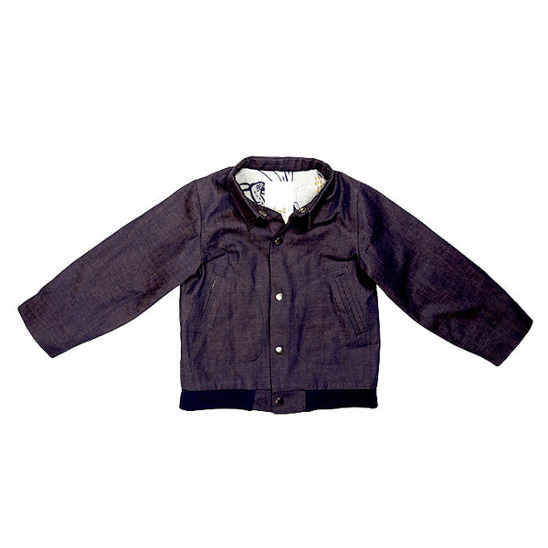 FLIGHT JACKET - DENIM