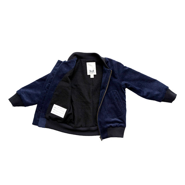 AVIATOR ZIP - CORDUROY - NAVY