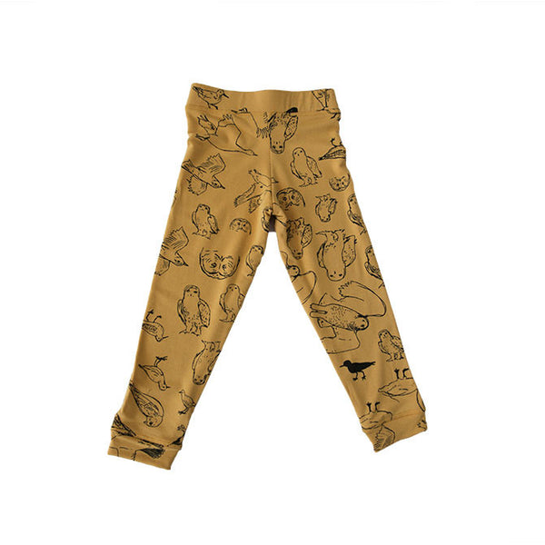 AW16 - leggings - yellow print