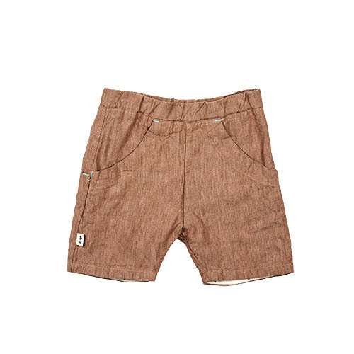 SS - roo shorts - brown