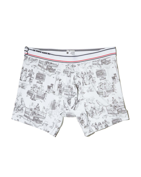 THE BOXER BRIEF - WEARS THE EIGHTH - PIMA