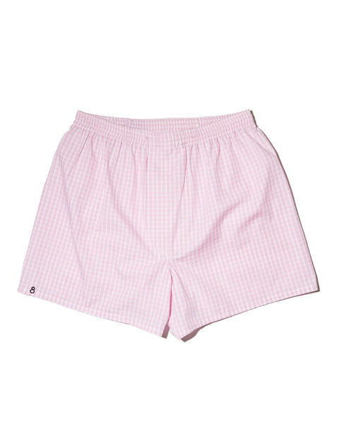 THE SLIM BOXER - Limited Edition Pink Gingham