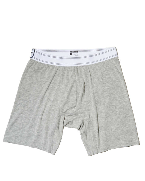 THE LOUNGE BOXER - Heather Grey