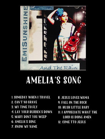 CD -- Amelia's Song **SIGNED**