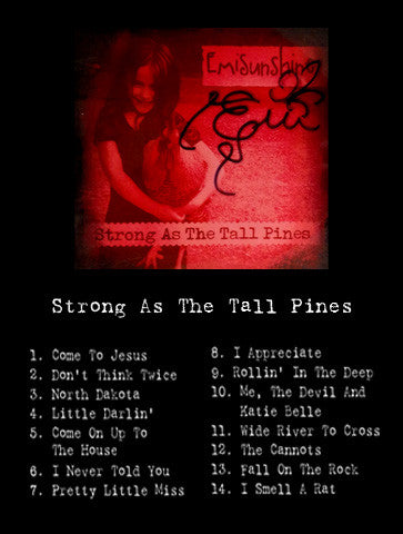 CD -- Strong As The Tall Pines **SIGNED**