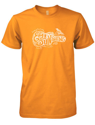 Emi Guitar Tee in Super Soft Ring Spun Tennessee Orange Cotton - New for 2017!