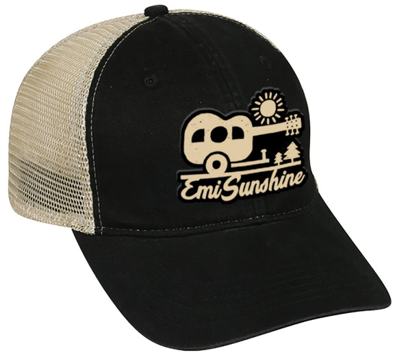 EmiSunshine Camper Tea Stained Cap (4 colors)