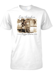 """Ragged Dreams"" Unisex Super Soft Ring Spun Cotton Tee - New for 2017!"