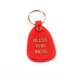 Bless This Mess Keychain