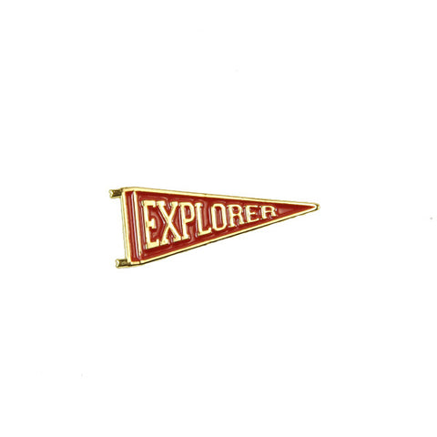 Explorer Lapel Pin