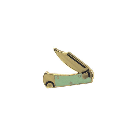 Hunter's Knife Lapel Pin