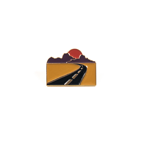 Lost Highways Lapel Pin