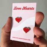 Love Hearts Lapel Pin (2 Pack)