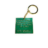 One Woman Keychain