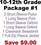 DHHS 10-12th Grade Package #1