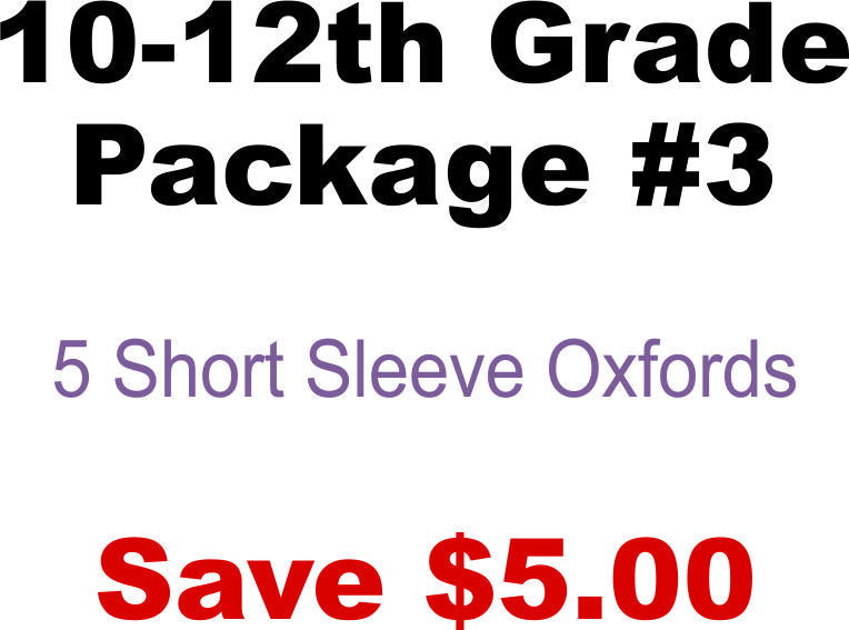 DHHS 10-12th Grade Package #3