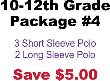 DHHS 10-12th Grade Package #4
