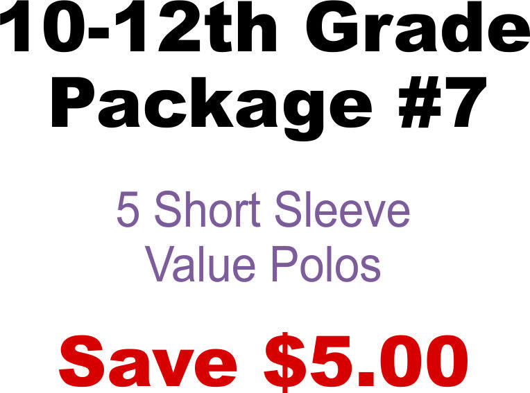 DHHS 10-12th Grade Value Package #7