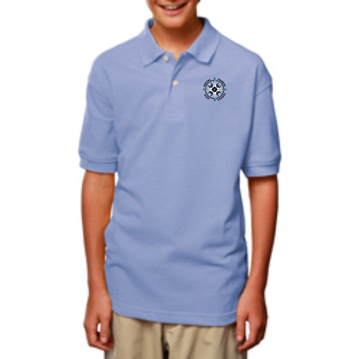 DHHS Youth Short Sleeve Polo