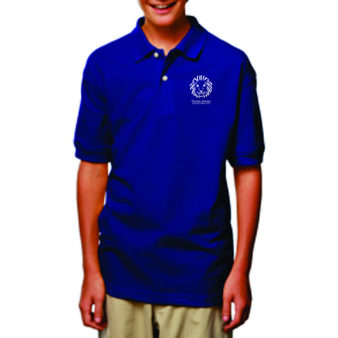 TJES Youth Short Sleeve Polo (SCREEN PRINTED)
