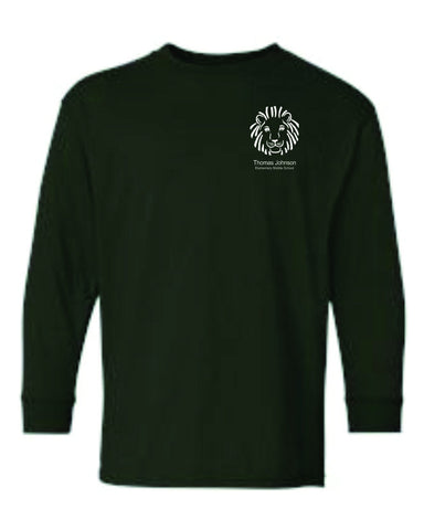 TJMS Youth Long Sleeve T-shirt (SCREEN PRINTED)