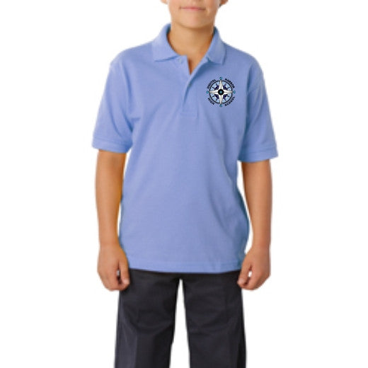DHHS Youth Short Sleeve Value Polo