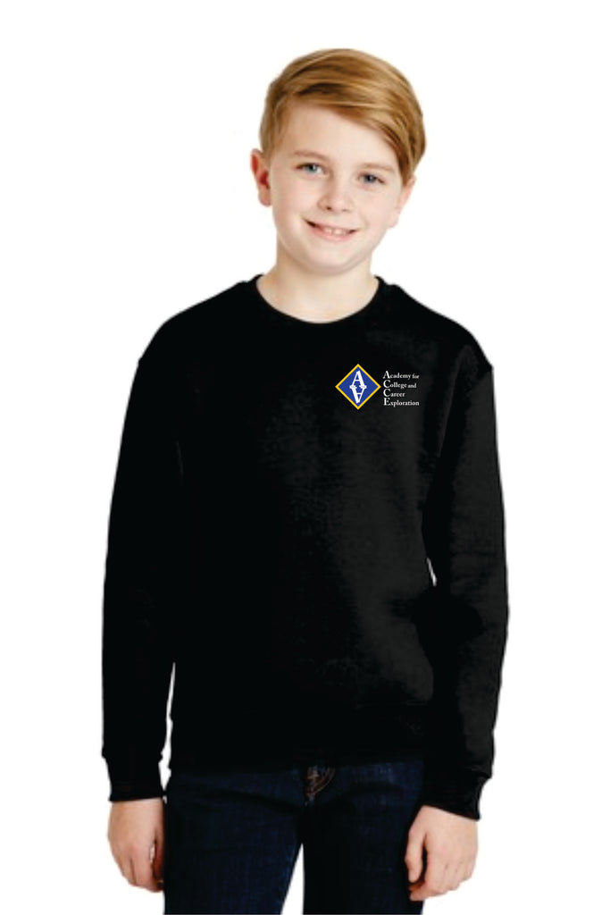 ACCE Youth Crewneck Sweatshirt (Embroidered)